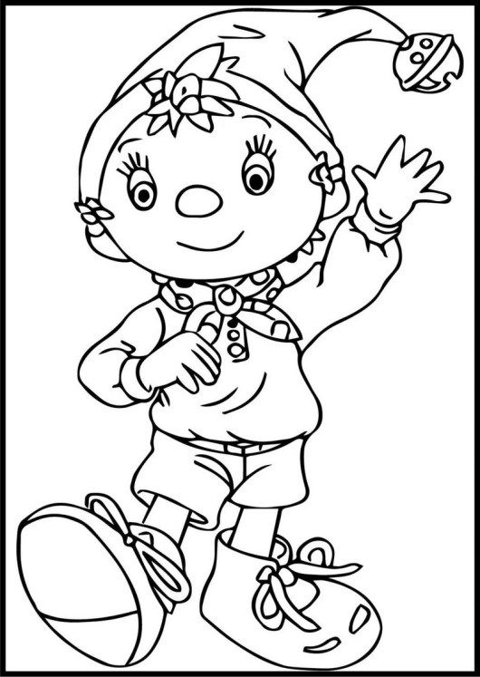 8 Ultimate Noddy In Toyland Coloring Pages For Boys Boy