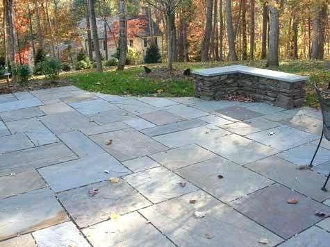 Existing To Remain But Cleaned Up Patio Stones Bluestone Patio Landscaping Costs