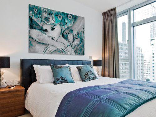Morski Urok Nowoczesny Obraz Do Sypialni Home Home Decor Furniture
