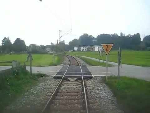 Rohrdorf - Rosenheim Bahnstrecke Zeitraffer