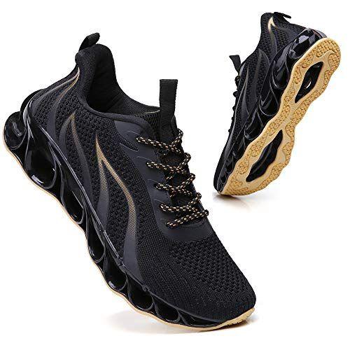 Wanhee Running Tennis Shoes Men Blade Slip On Athletic Walking Jogging Road Trail Sport Sneakers Mesh Breathable Wanhee Sneakers Men Shoes Sport Sneakers