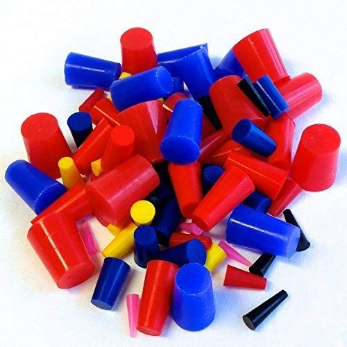 80 Pc 1 16 To 3 4 High Temp Silicone Rubber Tapered Plug Kit Powder Coating Custom Painting Supplies Review Painting Supplies Powder Coating Plugs