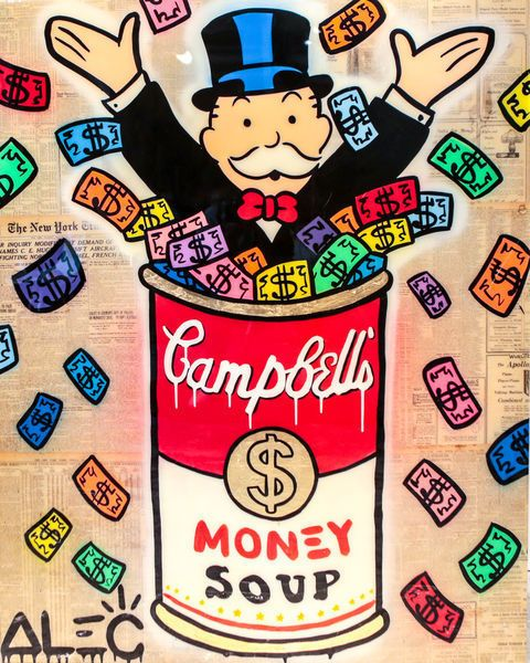 Alec Monopoly Monopoly Campbell S Soup Colorful Money 2017