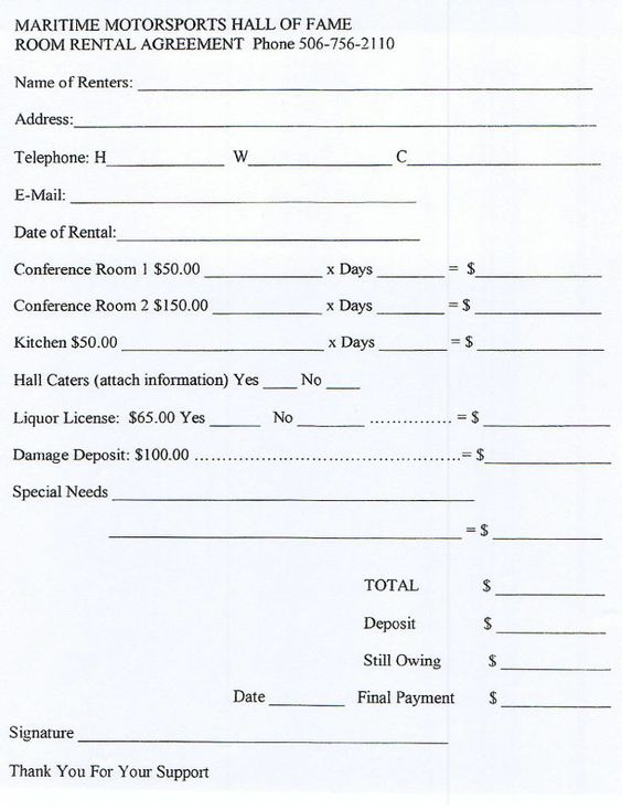 Banquet Rooms Banquet Room Rental Agreement facility rental – Room Rental Agreement Template Free