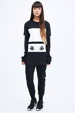 Contrast sweater urban outfitters