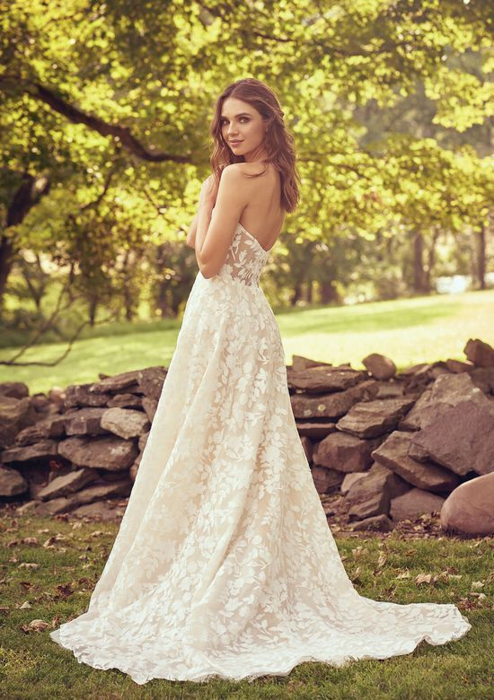 Style 66067 Sweetheart Gown With Cotton Lace Illusion Bodice In