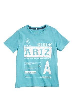 De fedeste Name it T-shirt Vils Blå Grøn Name it T-shirt til Børn & teenager i luksus kvalitet