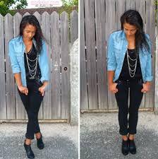 R sultat de recherche d 39 images pour comment porter la - Comment porter une chemise en jean femme ...