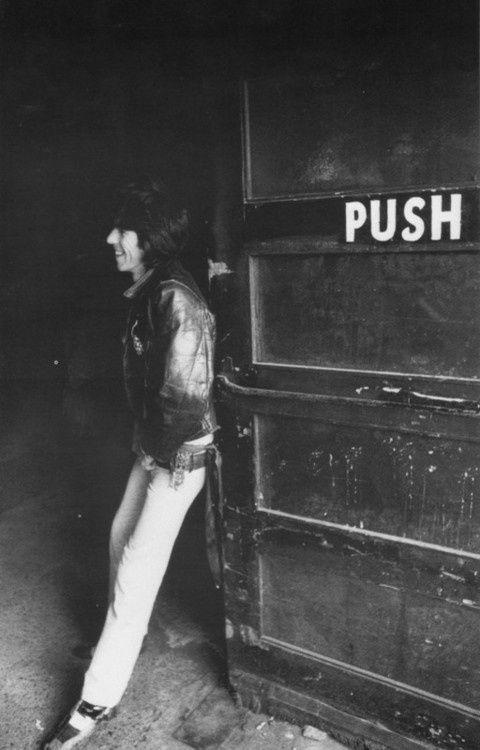 Keith Richards Push Push...