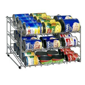 Can rack for pantry