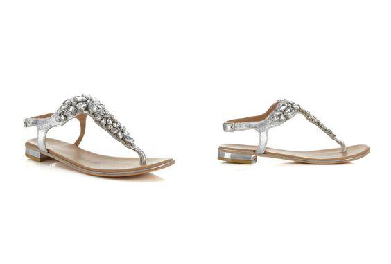 MISS SELFRIDGE Florida Keys Leather jewelled sandal $25.19