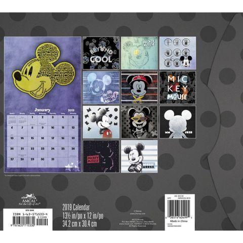 Mead 2020 Wall Calendar 16 Month MICKY MOUSE New item!