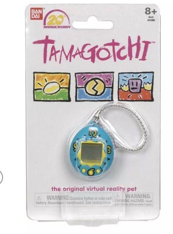 Black /& Orange Virtual Pet HTF NEW Bandai 20th Anniversary Series 3 TAMAGOTCHI