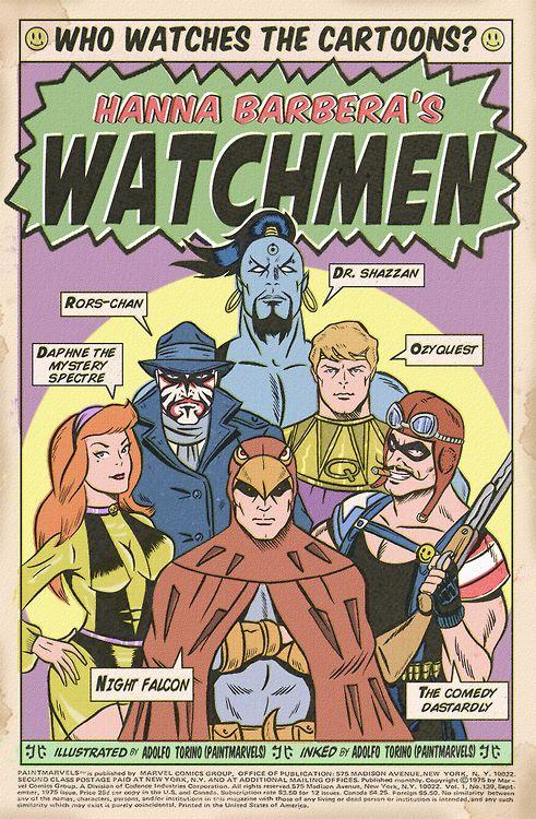 Hanna-Barbera's Watchmen.
