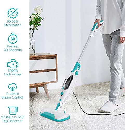 Buy Steam Mop Cleaner 12 1 Convenient Detachable Handheld Steam Cleaner Hardwood Tiles Carpet Multifunctional Tools 1500w Handheld Steamer Kitchen Garment In 2020 Steam Mop Cleaner Steam Mop Steam Cleaners