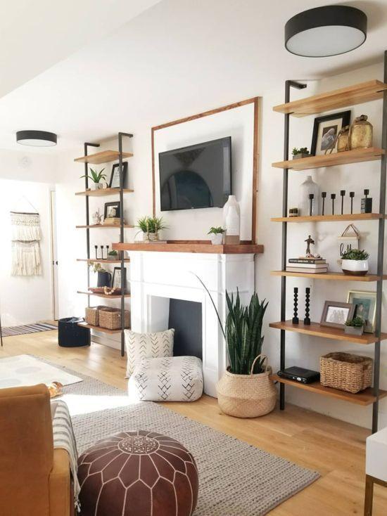 Boho Living Room Home Style Ideias De Decoracao Decoracao De