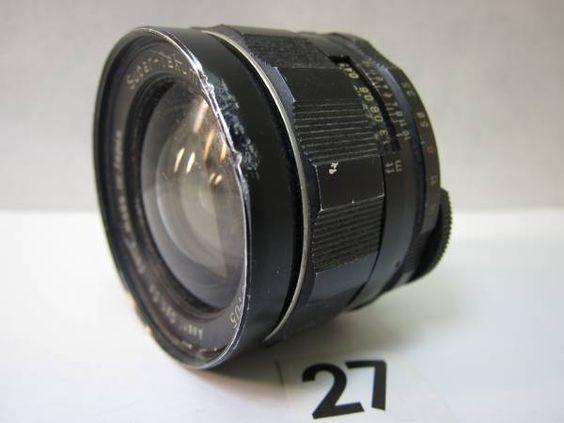 L205CC ASAHI SUPER-TAKUMAR F3.5 24mm ジャンク_画像1