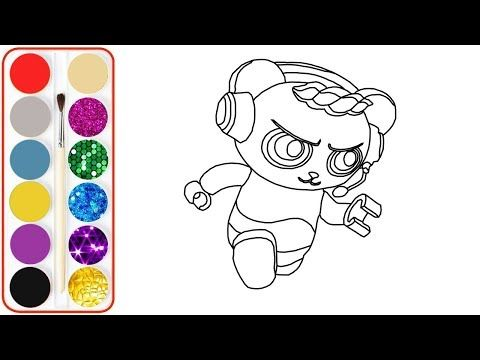 Coloring Pictures Of Combo Panda Google Search In 2020 Color Tag Coloring Pages Coloring Pictures