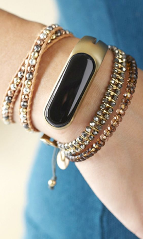TheMirafitness tracker bracelet - sleek and much cuter than other fit bracelets!