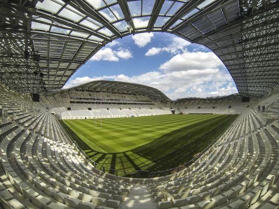 Nouveau Stade Jean Bouin à Paris après la rénovation - Août 2013 (1)