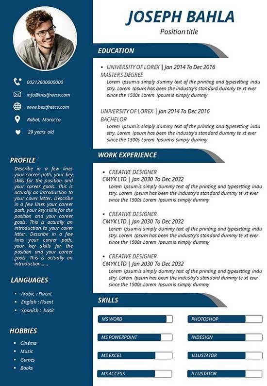 Resume Template Download Google Docs 3 Things You Should Do In Resume Template Download Goog Downloadable Resume Template Resume Template Visual Resume