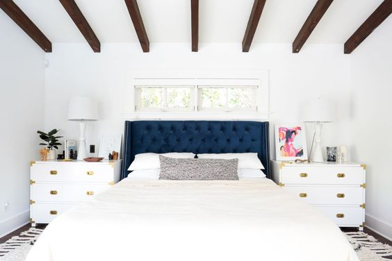 Is it just us or does this bed look ginormous? Like it's ready to envelop us in its pillowy arms!