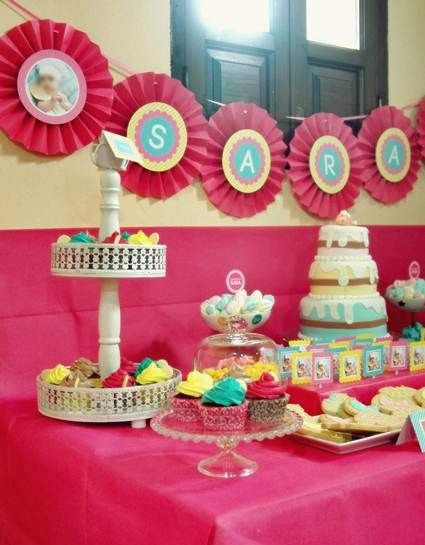 Decoracion de fiesta infantiles tematicas buscar con for Decoracion mesas fiestas