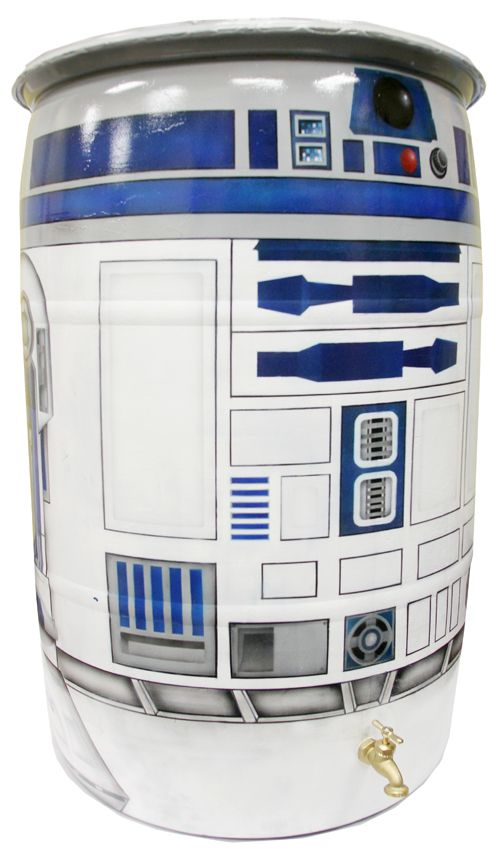 R2-D2 Becomes a Rain Barrel To Support Water Conservation