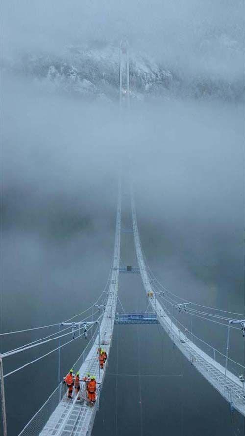 The Norway Sky Bridge: