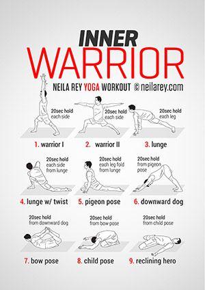 Inner Warrior Workout I already do warrior 1, 2 & 3!