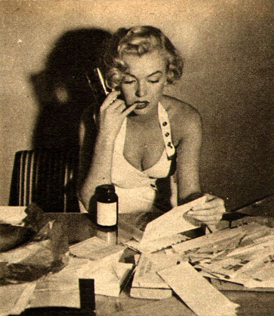 marilyn_monroe_letters_1951 | by it's better than bad
