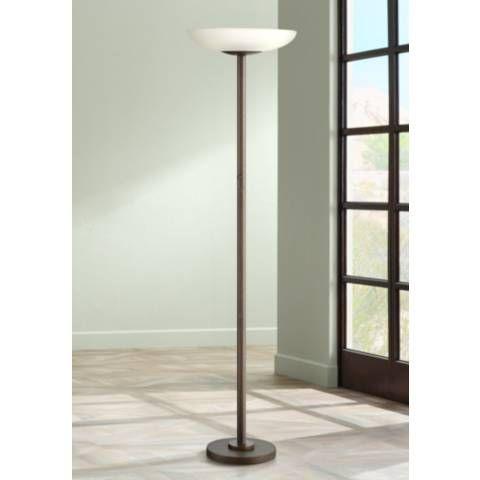 Possini Euro Design Meridian Light Blaster Torchiere Lamp 2t918 Lamps Plus With Images Possini Euro Design Torchiere Lamp Floor Lamp Design