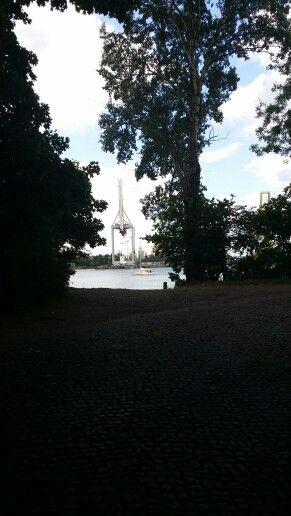 Insel Usedom. Swinemünde.