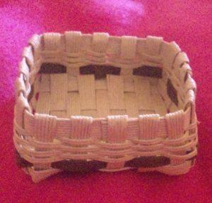 japanese papercraft-make an ' eco craft' basket