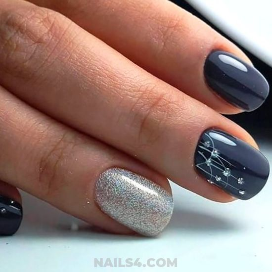 35 Easy Nail Design Ideas For Party Simple Nail Designs Simple Nails Nail Designs