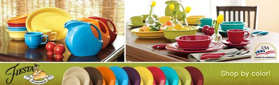 Fiesta Ware.  More than one color of course
