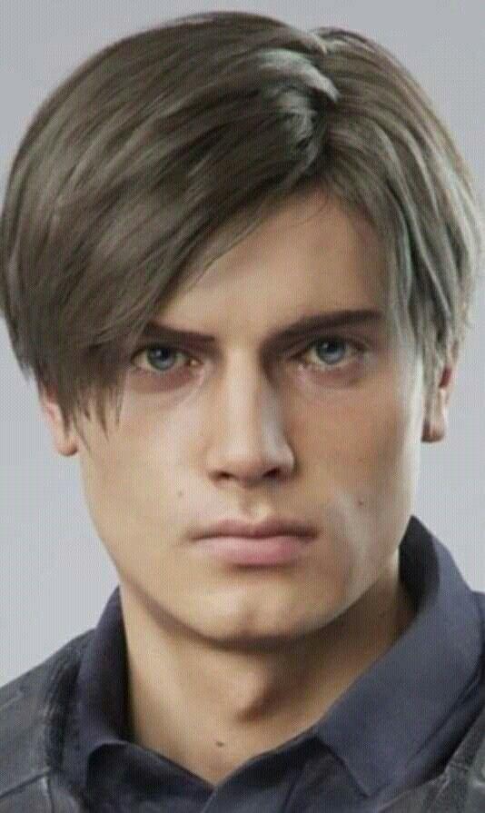 Leon Kennedy Hair : kennedy, Resident, Leon,, Girl,