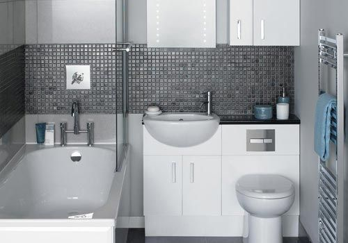 Gray White Bath Samples Fashion Decoration Kleines Bad Einrichten Bad Einrichten Kleine Badezimmer