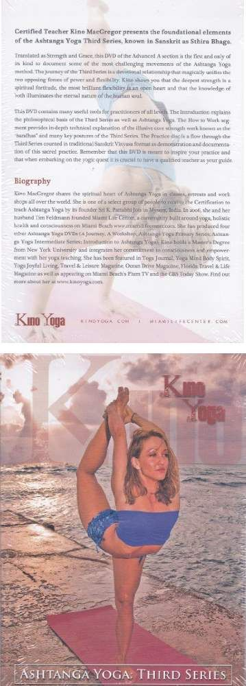 Ashtanga Yoga Third Series Kino Yoga | Yoga DVDs | Pinterest ...