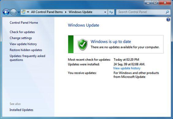 #Tecnologia Microsoft actualiza Windows Update para hacer más robusta la plataforma,