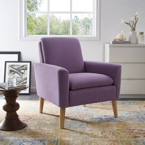 George Oliver Bulter Armchair Reviews Wayfair Single Sofa Chair Arm Chairs Living Room Living Room Chairs