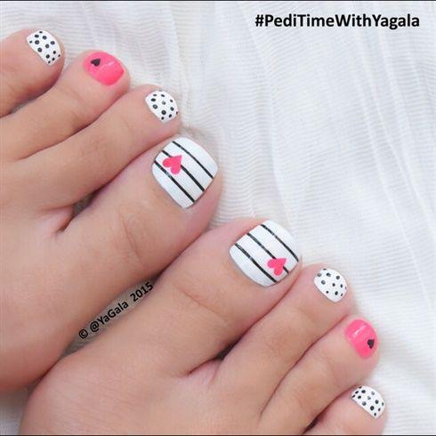 Toe Nail Art  by Yagala from Nail Art Gallery