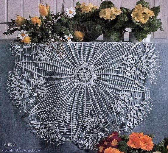 Crochet Art: Patterns Crochet Centrini - Semplice & Beautiful