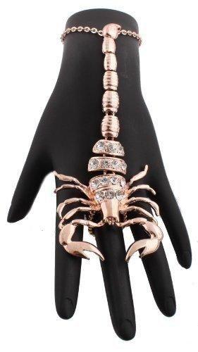 Scorpion Slave Bracelet in Rose Gold!