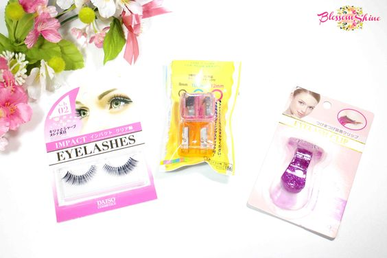Daiso Makeup Accessories