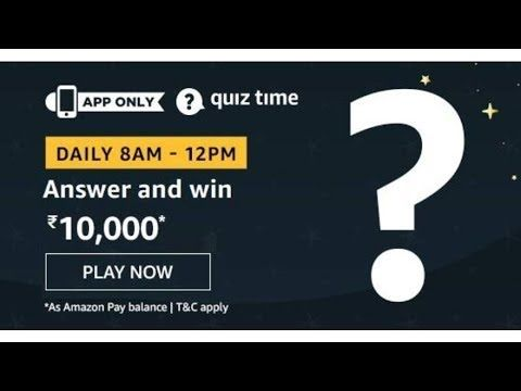 Amazon Quiz Answers Today Win 10000 Amazon Pay Balance Quiz Today Play Quiz Quiz This Or That Questions
