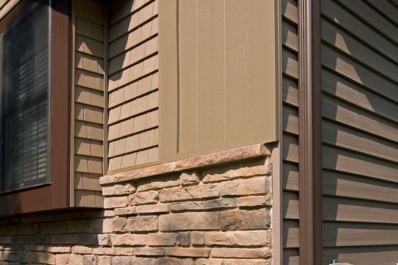 7 Popular Siding Materials To Consider: Fiber Cement Siding, Cement Siding And Vinyl Siding On