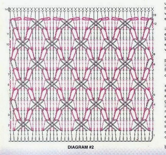 Free Crochet Pattern For Polish Star : polish star crochet chart Arte que adoro Pinterest ...