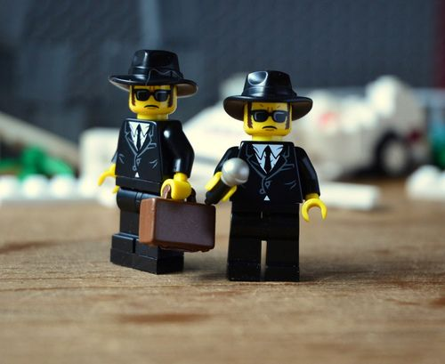 Lego Blues Brothers Image by Rob Peters