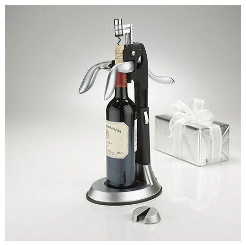 Wine Enthusiast QuickSilver Tower Deluxe Corkscrew Set #wine #winelover #wineandbar